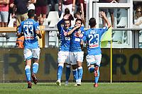 esultanza gol Simone Verdi<br /> Torino 23-09-2018 Stadio Olimpico Grande Torino Football Calcio Serie A 2018/2019 Torino - Napoli Foto Image Sport / Insidefoto