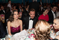 Charlotte Casiraghi, Pierre Casiraghi and Tatiana Casiraghi attend the Rose Ball 2019 at Sporting in Monaco, Monaco. Photo by Palais Princier/Olivier Huitel/SBM/ABACAPRESS.COM