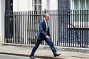 Dominic Raab Britain's Foreign Secretary arrives in Downing Street in London, Wednesday, Sept. 2, 2020. Britain's parliament returned Tuesday after the summer break. (VXP Photo/ Vudi Xhymshiti)