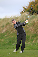John Dwyer (Ashbourne) on the 6th tee during the PGA Winter Series Southern Branch in Rush Golf Club on Friday 20th March 2015.<br /> Picture:  Thos Caffrey / www.golffile.ie