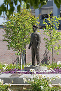 Police Officer Memorial at Westminster Police Department