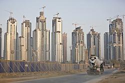 Construction site in Dubai