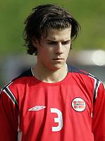 Fotball / Football<br /> International U 17 Team Tournament<br /> Norge v Polen 3-1<br /> Norway v Poland 3-1at La Manga - Spain<br /> Poland played in Norways white changing shirts<br /> 05.02.2007<br /> Foto: Morten Olsen, Digitalsport<br /> <br /> Portretter Norge / Portraits Norway<br /> <br /> Lars-Erik Figved - Ørn Horten