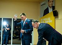 Bialystok, 08.02.2020. Spotkanie wyborcze Szymona Holowni kandydata w wyborach prezydenckich N/z Szymon Holownia fot Michal Kosc / AGENCJA WSCHOD