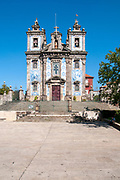 Church of Saint Ildefonso of Toledo in Santo Ildefonso civil parish of Porto city, Portugal