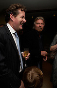 Piers Morgan and Richard Branson. . Piers Morgan celebrates the publication of 'The Insider' at Axis Restaurant and Bar. One Aldwych, WC2. ONE TIME USE ONLY - DO NOT ARCHIVE  © Copyright Photograph by Dafydd Jones 66 Stockwell Park Rd. London SW9 0DA Tel 020 7733 0108 www.dafjones.com