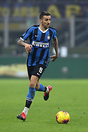 Matias Vecino of Inter during the Serie A match at Giuseppe Meazza, Milan. Picture date: 9th February 2020. Picture credit should read: Jonathan Moscrop/Sportimage