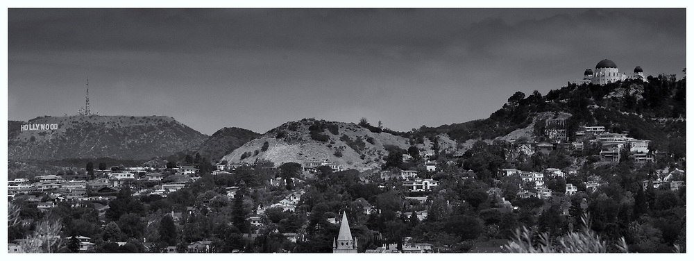 The Streets of Los Angeles: Griffith Park with Griffith Observatory and Hollywood Sign