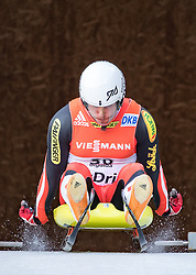 03.11.2016, Olympia Eisbahn Igls, Innsbruck, AUT, OeRV, Medientermin, im Bild Lukas Schlierenzauer (AUT) // Lukas Schlierenzauer (AUT) during a Media Event of the Austrian Luge Federation as Preview for the FIL Luge World Championships 2017 at the Olympia Eisbahn Igls in Innsbruck, Austria on 2016/11/03. EXPA Pictures © 2016, PhotoCredit: EXPA/ Johann Groder
