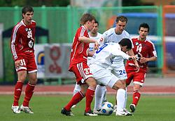 Mirko Zaja (9) of Primorje at 29th Round of Slovenian First League football match between NK Interblock and NK Primorje at ZAK Stadium, on April 20, 2009, in Ljubljana, Slovenia. (Photo by Vid Ponikvar / Sportida)