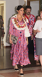 The Duchess of Sussex attends a morning tea at the British High Commissioner's Residence in Suva, Fiji, on day two of the royal couple's visit to Fiji.