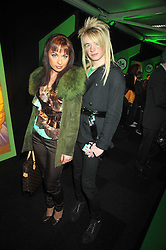 MONICA IRIMIA and ADAM EMBLEM at the premier of Ben Ten Alien Force at the Old Billingsgate Market, City of London on 15th February 2009.