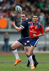 Scotland's Stuart Hogg during the NatWest 6 Nations match at the Stadio Olimpico, Rome.