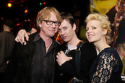 Mike Mills of R.E.M. and friends photographed at the afterparty for The Music of R.E.M. at Carnegie Hall held at City Winery in NYC.