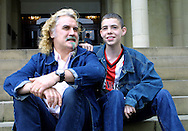 Stars Billy Connolly and Sean Landless at a press conference to discuss their new film Gabriel & Me which had its world premiere at the UGC cinema in Edinburgh.