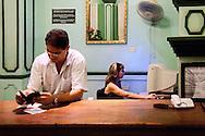 Hotel Telegrafo in Bayamo, Granma, Cuba.