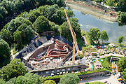 Nederland, Utrecht, Gemeente Utrecht, 26-06-2014; Fort Vechten, onderdeel Nieuwe Hollandse Waterlinie. Wordt verbouwd tot Waterliniemuseum.<br /> aerial photo (additional fee required);<br /> copyright foto/photo Siebe Swart.