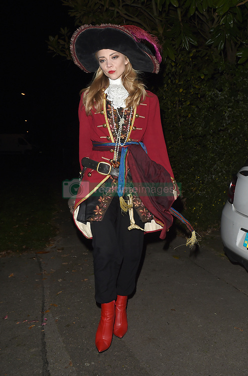 Celebrities attend an annual Halloween party, held at the Hampstead home of talk show host Jonathan Ross. 31 Oct 2017 Pictured: Natalie Dormer. Photo credit: Will / Craig / MEGA TheMegaAgency.com +1 888 505 6342