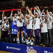 Mar 12 2019  Las Vegas, NV, U.S.A. Saint Mary's basketball team celebrate a win over Gonzaga after the NCAA  West Coast Conference Men's Basketball Tournament championship between the Gonzaga Bulldogs and the Saint Mary's Gaels 60-47 win at Orleans Arena Las Vegas, NV.  Thurman James / CSM