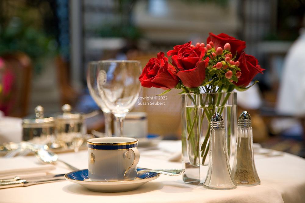 High tea at the Alvear Palace Hotel