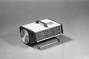 20-25/05/1966<br /> 05/20-25/1966<br /> 20-25 May 1966<br /> Competition prizes photographed at Lensmen Studio for Esso (Ireland) Ltd. Philips portable heater.