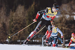 28.02.2021, Oberstdorf, GER, FIS Weltmeisterschaften Ski Nordisch, Oberstdorf 2021, Herren, Langlauf, Teamsprint, Freestyle, im Bild Antoine Cyr (CAN) // Antoine Cyr of Canada during men Cross Country team sprint freestyle competition of the FIS Nordic Ski World Championships 2021 in Oberstdorf, Germany on 2021/02/28. EXPA Pictures © 2021, PhotoCredit: EXPA/ Dominik Angerer