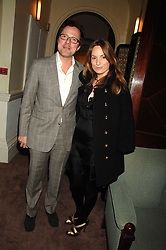 WILLIAM TURNER and his wife EMILY OPPENHEIMER-TURNER at a party to celebrate the publication of Top Tips For Girls by Kate Reardon held at Claridge's, Brook Street, London on 28th January 2008.<br /><br />NON EXCLUSIVE - WORLD RIGHTS