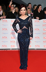 Shona McGarty attending the National Television Awards 2018 held at the O2, London. Photo credit should read: Doug Peters/EMPICS Entertainment