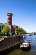 Germany, Cologne, the Malakoff tower at the Rheinau harbour.<br /> <br /> Deutschland, Koeln, der Malakoffturm am Rheinauhafen.