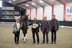 Vandecappelle Ine, BEL, Katusha van 't Wijnhof<br /> Winnaar Prijs Dr. Tijskens, <br /> fokker Rene Vangorp<br /> BWP Keuring - 3de Phase<br /> Hulsterlo - Meerdonk 2017<br /> © Hippo Foto - Dirk Caremans<br /> 17/03/17
