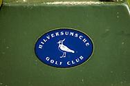 01-09-2016 Golffoto's van het Nationaal Open op de Hilversumsche Golf Club in Hilversum. Ronde 3.  Teemarker Hilversumsche Golf Club