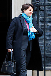 © Licensed to London News Pictures. 10/01/2017. London, UK. Scottish Conservative Party RUTH DAVIDSON attends a cabinet meeting in Downing Street on Tuesday, 10 January 2017. Photo credit: Tolga Akmen/LNP
