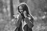 Book de fotografia juvenil en blanc i negre