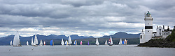 The Silvers Marine Scottish Series 2014, organised by the  Clyde Cruising Club,  celebrates it's 40th anniversary.<br /> Day 1 Racing round Cloch<br /> Racing on Loch Fyne from 23rd-26th May 2014<br /> <br /> Credit : Marc Turner / PFM