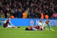 Football - 2020 EFL Carabao (League) Cup Final - Aston Villa vs. Manchester City<br /> <br /> Aston Villa's Tyrone Mings and Matt Targett dejected at the final whistle, at Wembley Stadium.<br /> <br /> COLORSPORT/ASHLEY WESTERN
