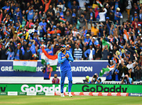 Cricket - 2019 ICC Cricket World Cup - Group Stage: India vs. Australia<br /> <br /> India's substitute Ravindra Jadeja catches Australia's Adam Zampa to win the game, at The Kia Oval.<br /> <br /> COLORSPORT/ASHLEY WESTERN