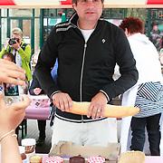 NLD/Amsterdam/20130701 - Keti Koti Ontbijt 2013 op het Leidse Plein, Frank Lammers