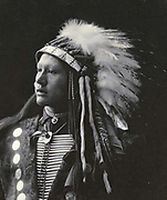 Nastive American Indian, John Hollow Horn Bear, Sioux, 1898.