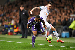 March 11, 2018 - Toulouse, France - 05 LUCAS OCAMPOS (om) - 02 Kelvin AMIAN  (Credit Image: © Panoramic via ZUMA Press)