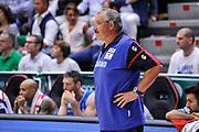 DESCRIZIONE : Campionato 2014/15 Dinamo Banco di Sardegna Sassari - Olimpia EA7 Emporio Armani Milano Playoff Semifinale Gara3<br /> GIOCATORE : Romeo Sacchetti<br /> CATEGORIA : Allenatore Coach<br /> SQUADRA : Dinamo Banco di Sardegna Sassari<br /> EVENTO : LegaBasket Serie A Beko 2014/2015 Playoff Semifinale Gara3<br /> GARA : Dinamo Banco di Sardegna Sassari - Olimpia EA7 Emporio Armani Milano Gara4<br /> DATA : 02/06/2015<br /> SPORT : Pallacanestro <br /> AUTORE : Agenzia Ciamillo-Castoria/L.Canu