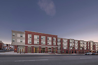 Architectural image of North Avenue Gateway resitential community in Baltimore Maryland by Jeffrey Sauers of Commercial Photographics