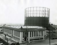 1926 Hollywood Paper Box Co. on SW corner of Santa Monica Blvd. & La Brea Ave.