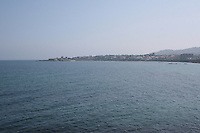 View from Dun Laoghaire Pier towards Sandycove, County Dublin, Ireland