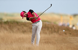 England's Tommy Fleetwood in the rough on the 6th during day four of The Open Championship 2018 at Carnoustie Golf Links, Angus.