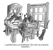 '...and then there was Goldilocks. Now she was a meal to remember...'