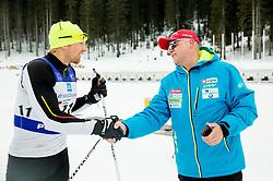 Jost Zakrajsek of Slovenian Kayak Canoe National Team at Winter training of Cross country and Biathlon, on January 7, 2015 in Rudno polje, Pokljuka, Slovenia.  Photo by Vid Ponikvar / Sportida