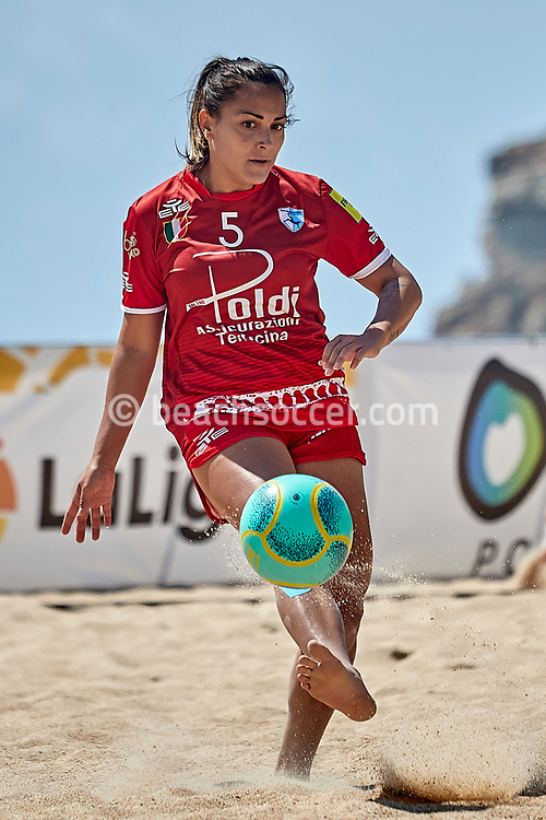 NAZARE, PORTUGAL - JUNE 5: Natalia Pedrini of ASD Lady Terracina during the Euro Winners Cup Nazaré 2019 at Nazaré Beach on June 5, 2019 in Nazaré, Portugal. (Photo by Jose M. Alvarez)