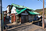 rundown house in Sakurai city near Nara Japan