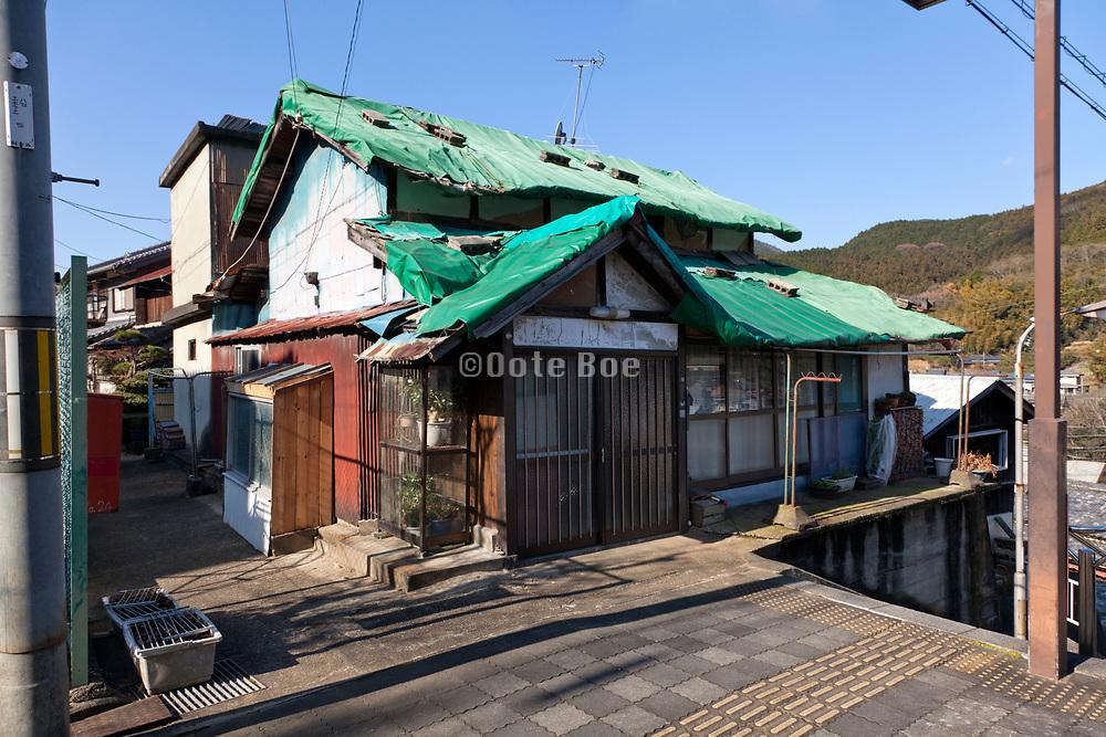 rundown house in Sakurai city near Nara Japan