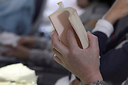 hands male person reading book